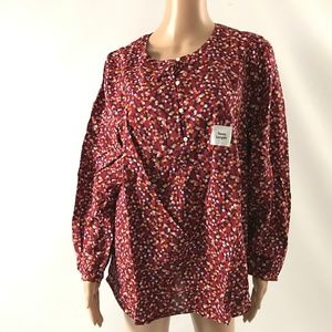 Old Navy Women's Tunic Top Cotton Blend Size L New